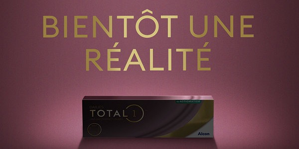 Le Laboratoire ALCON annonce une version torique de la lentille DAILIES TOTAL1™